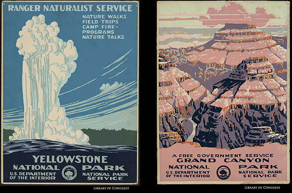 old nps posters